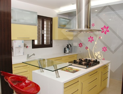 Designer kitchen studio modular kitchen india modular for Prefab kitchens prestons